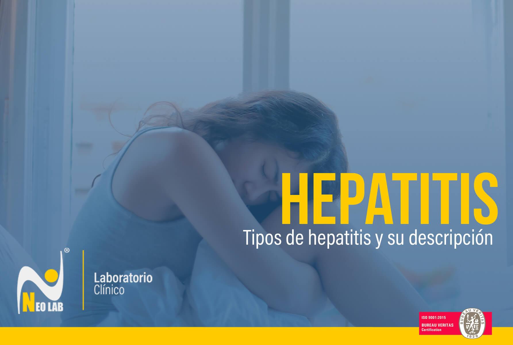 Neolab-laboratorio-clínico-tipos de hepatitis